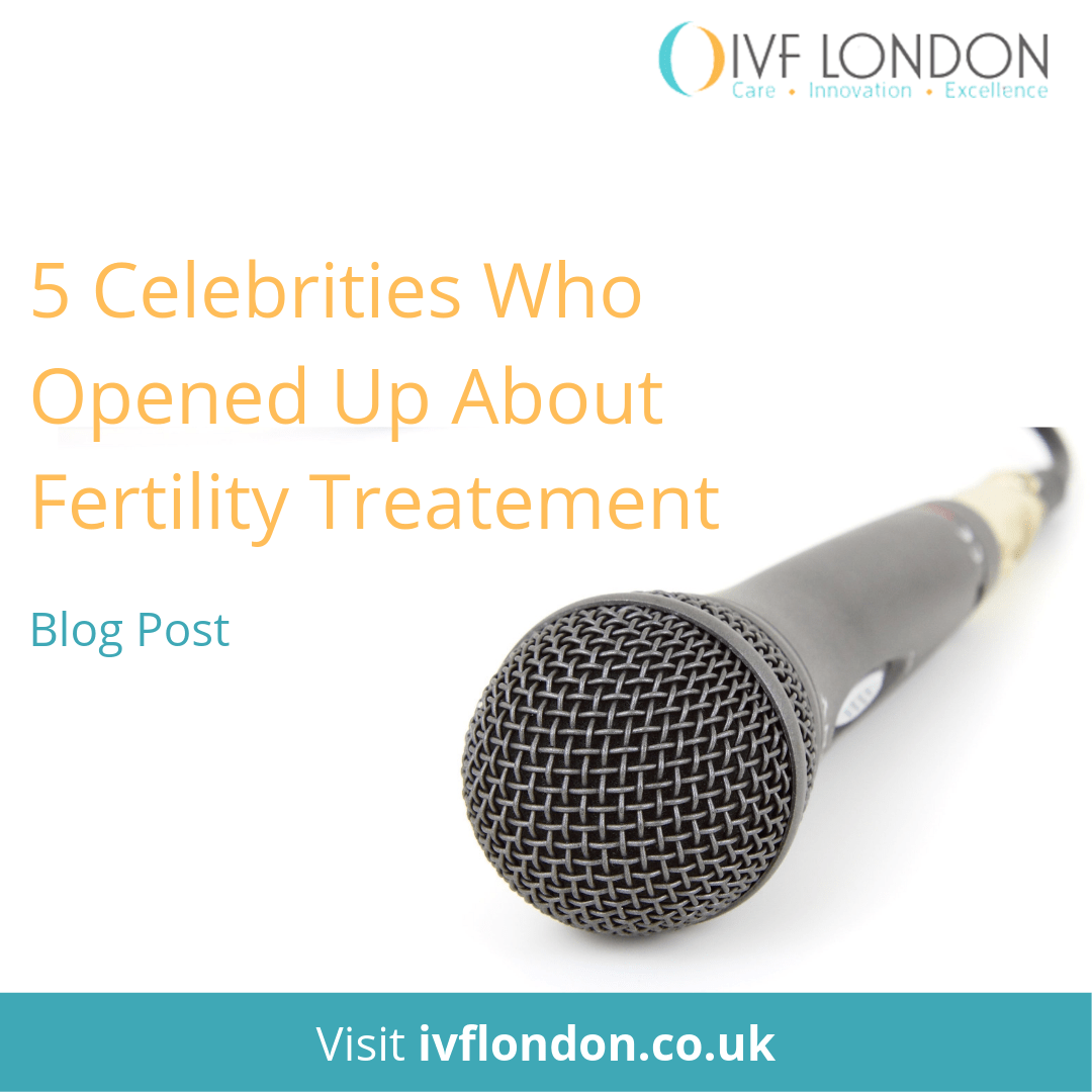 5 Celebrities Fertility Treatment