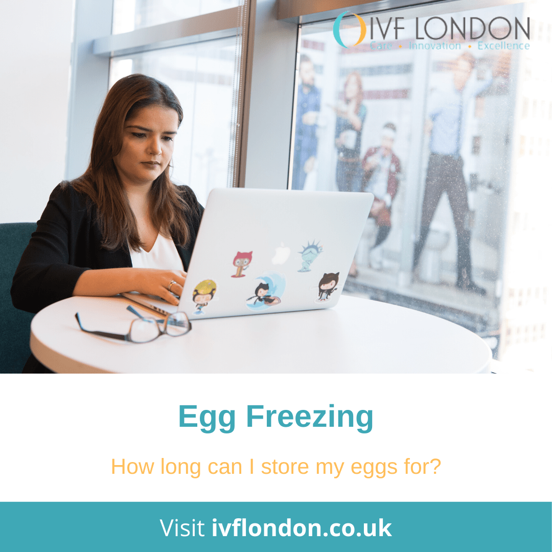 How long can I freeze my eggs for